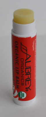 Aubrey Organics Organic Lip Balm Peppermint & Tea Tree
