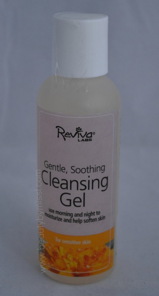 Reviva Labs Cleansing Gel review