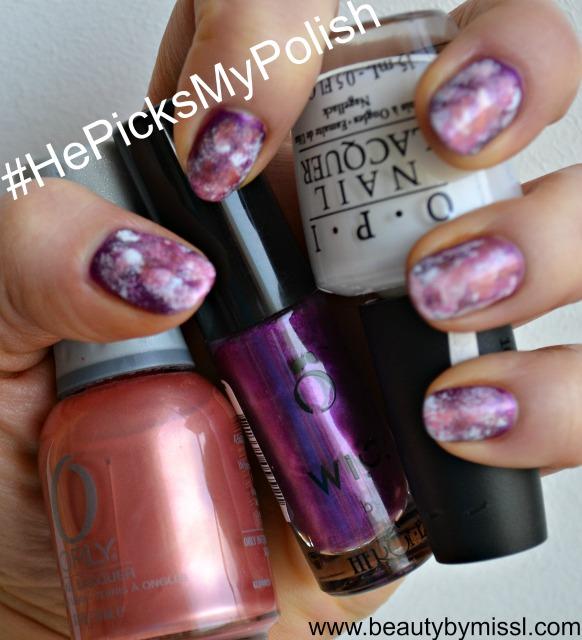 #HePicksMyPolish nail art