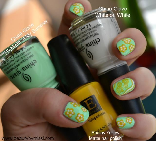 China Glaze and Ebalay nail polishes