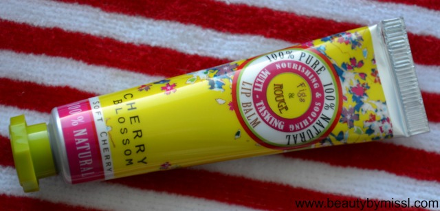 Fig & Rouge Cherry Blossom Lip Balm (2)