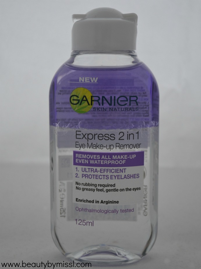 Garnier Express 2in1 Eye Makeup Remover