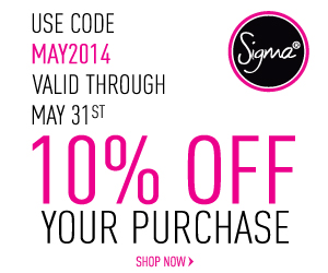 Sigma discount code for May