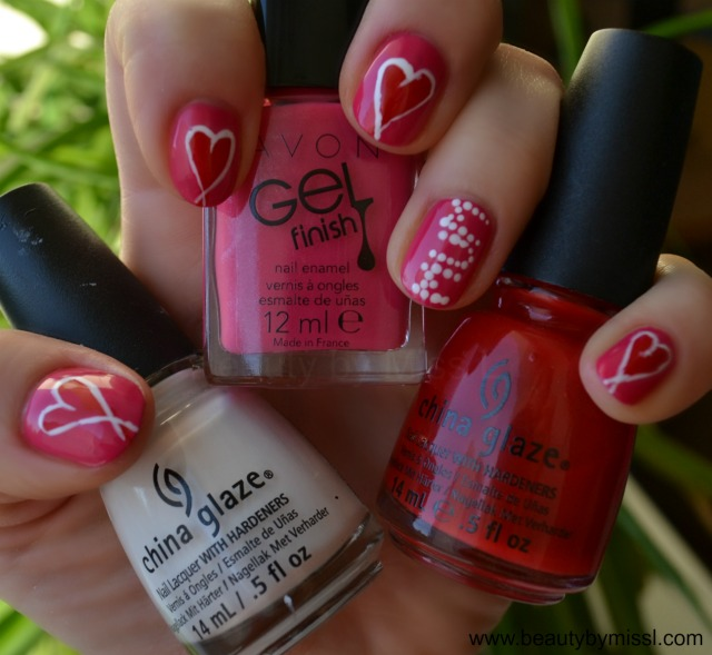 mother´s day themed nail art