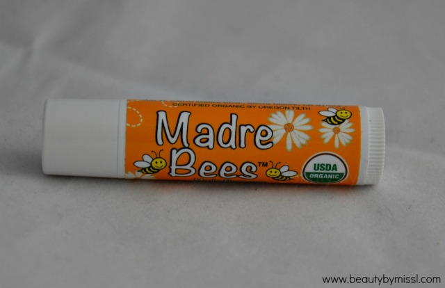 Madre Bees / Sierra Bees Organic Honey Beeswax Lip Balm with Vitamin E