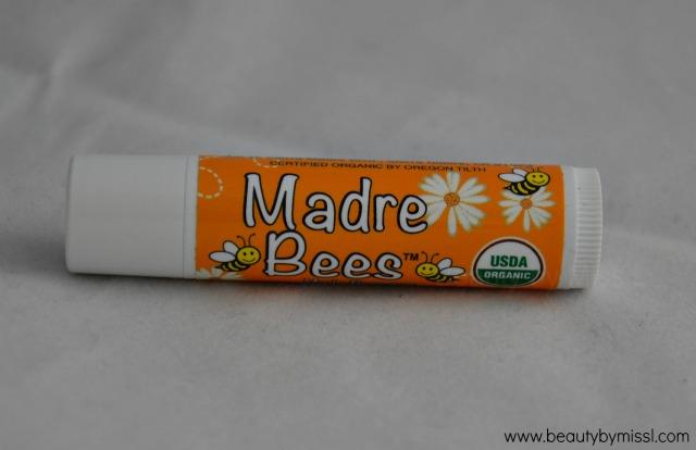 Madre Bees / Sierra Bees Organic Honey Beeswax Lip Balm with Vitamin E