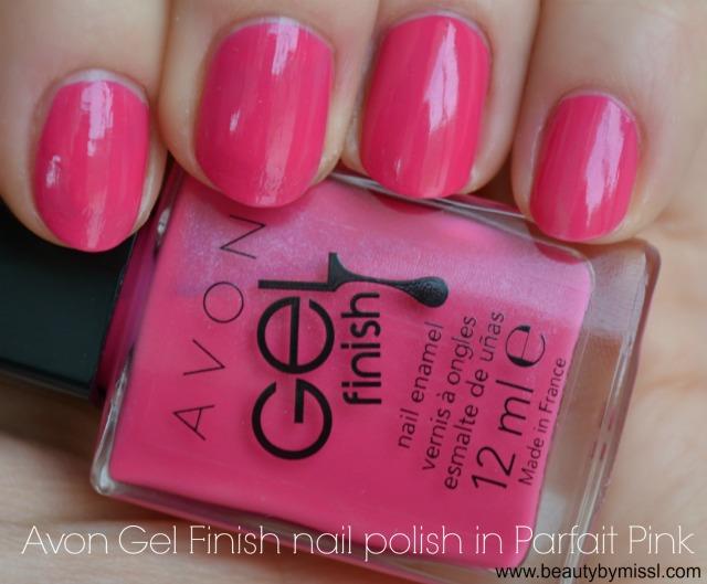 Avon Gel Finish nail polish in Parfait Pink