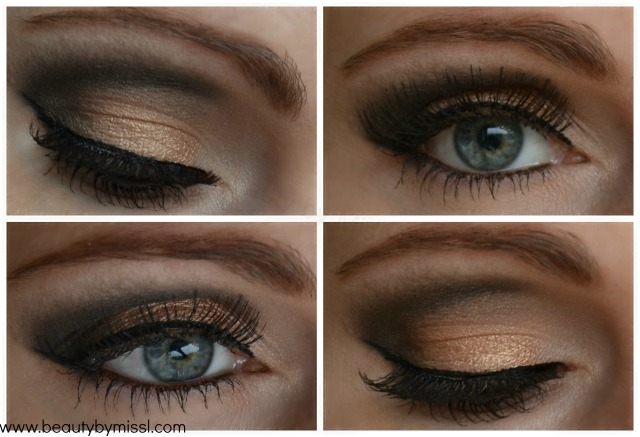 Wearable smoky eyes with Urban Decay Naked 2 palette