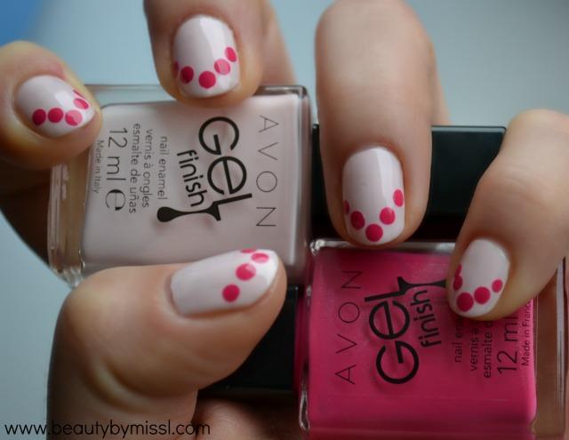 avon gel finish nail polishes