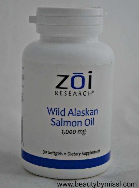 ZOI Wild Alaskan Salmon Oil 1000mg