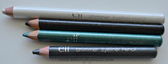 e.l.f. Shimmering Eye pencils