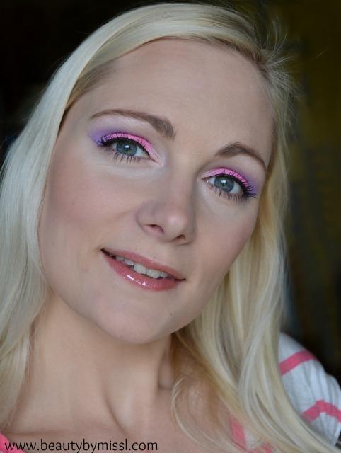 pink purple makeup