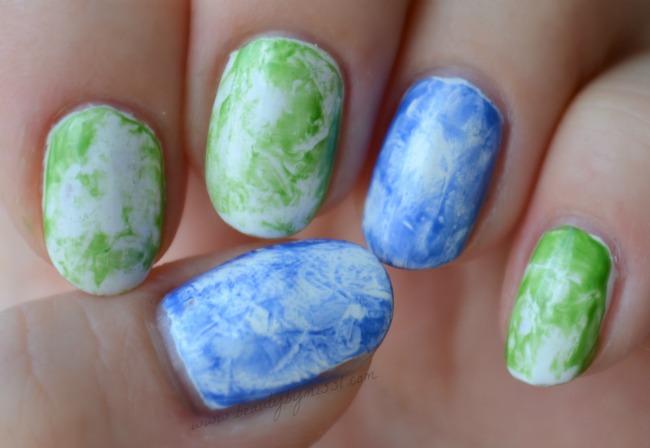 cling wrap nails