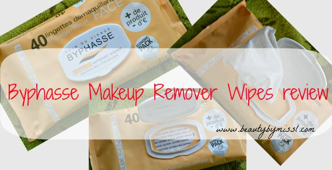 Byphasse Makeup Remover Wipes review