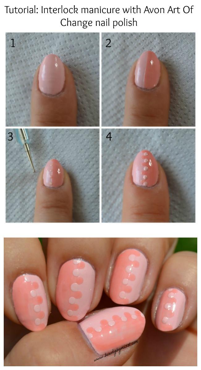 Interlock manicure tutorial