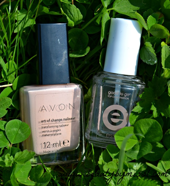 avon art of change, essie good to go