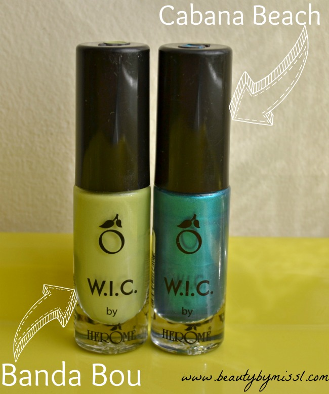 W.I.C by Herome nail polishes