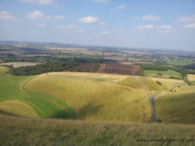 White Horse Hill in Uffington