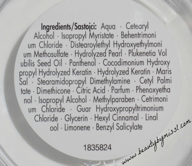 Schwarzkopf Essence Ultime Omega Repair mask ingredients