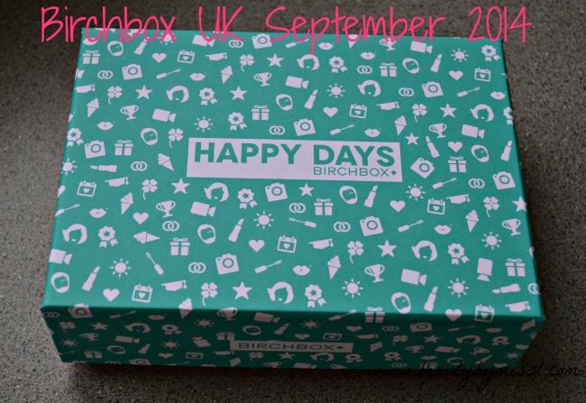 Birchbox UK September