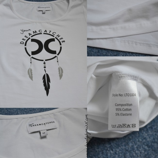 Your Dreamcatcher white t-shirt