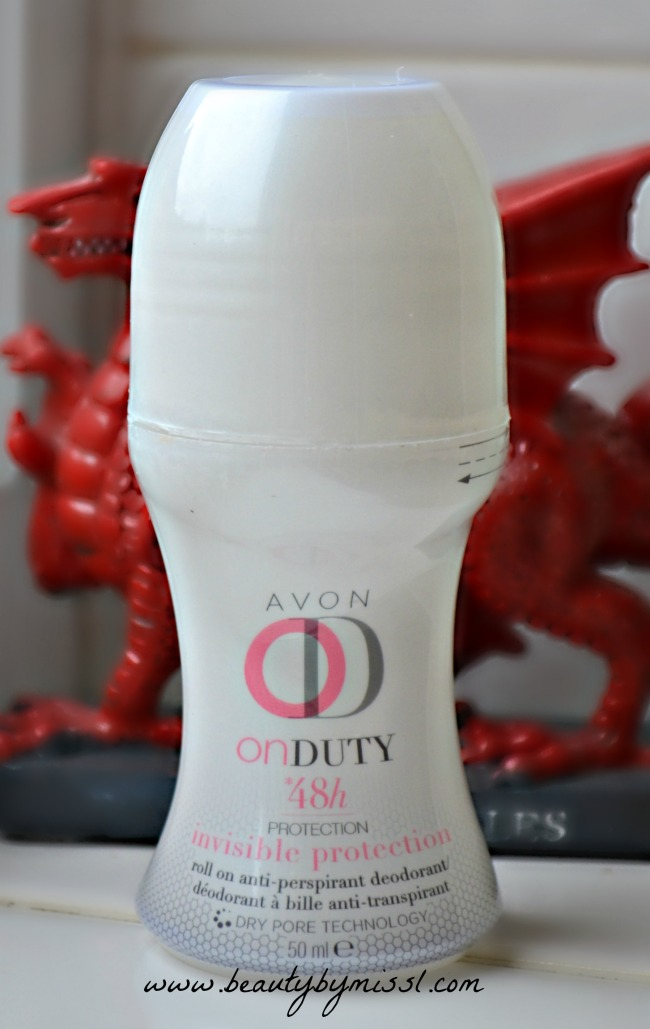 Avon On-Duty Roll-On Deodorant 48h Invisible Protection