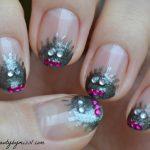 little monsters nail art