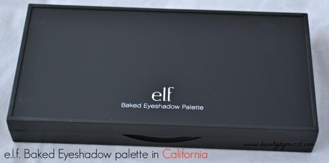 e.l.f. Baked Eyeshadow palette in California
