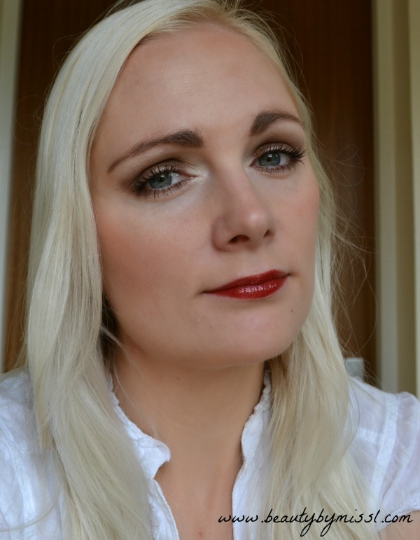 eotd with Wild About Beauty Creme Eyeshadow in 04 Matilda