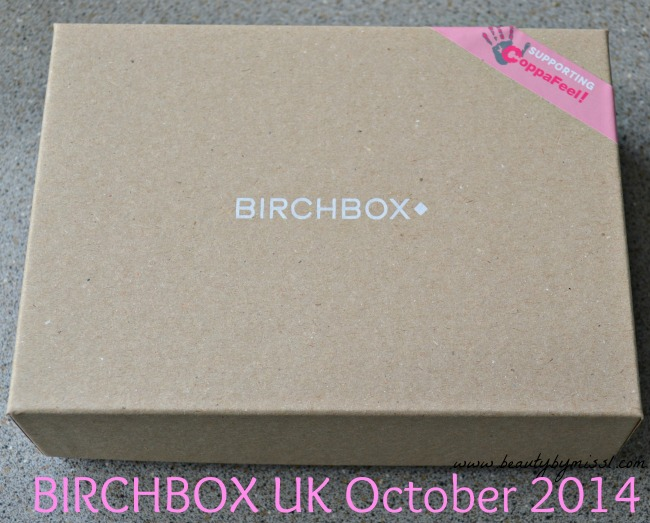 Birchbox UK October 2014