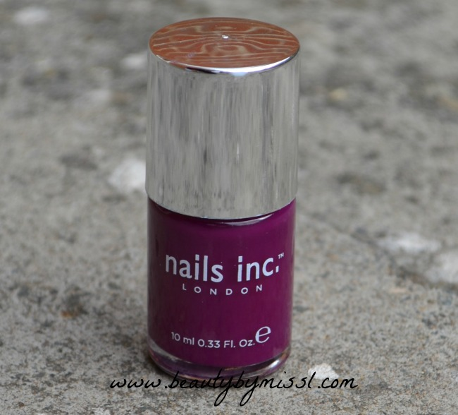 Nails inc St Martin's Lane