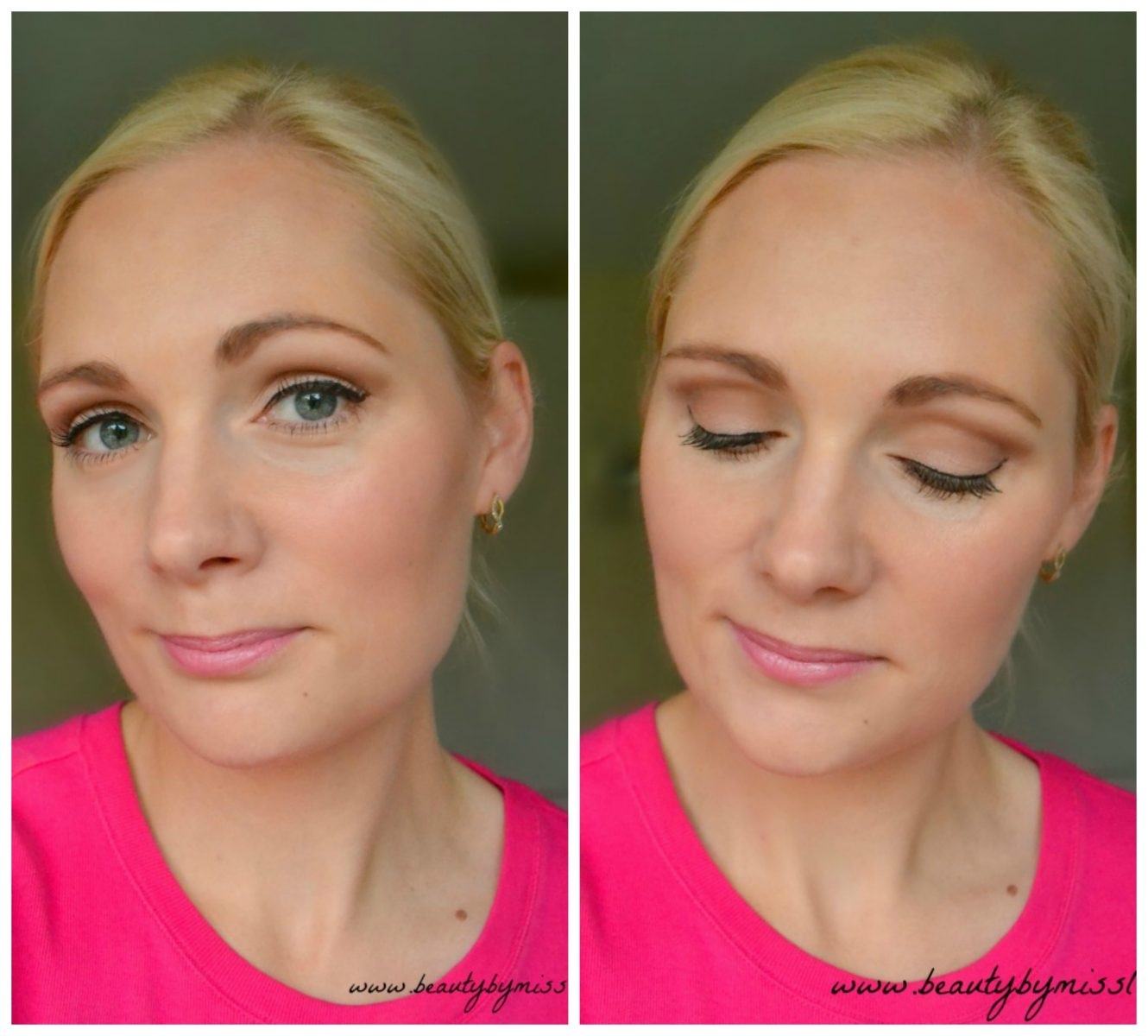 Daytime look with W7 In The Nude palette