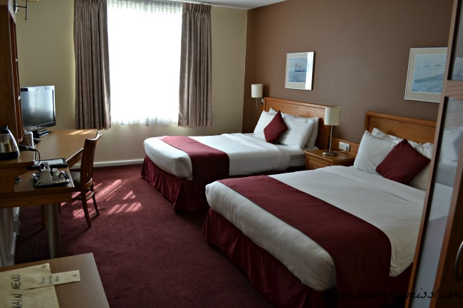 Future Inn Cardiff Bay double room with two double beds