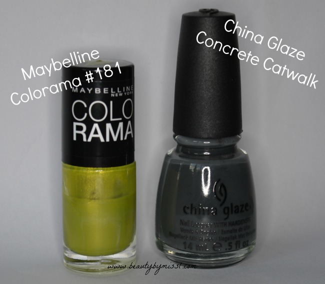 Maybelline Colorama, China Glaze