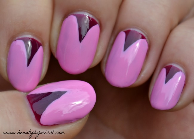 lazy nail art