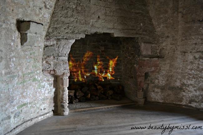 inside Conwy Castle
