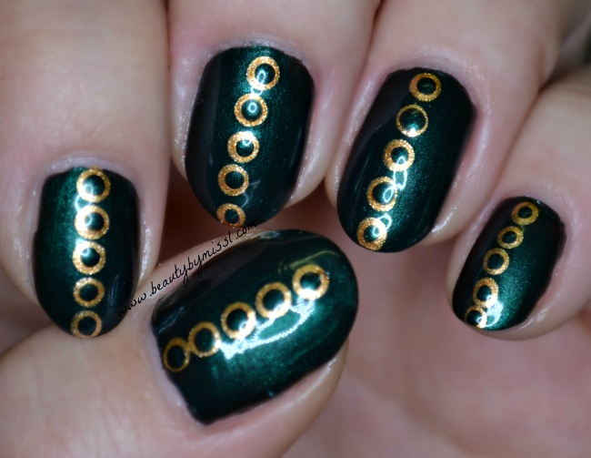 green golden dotticure
