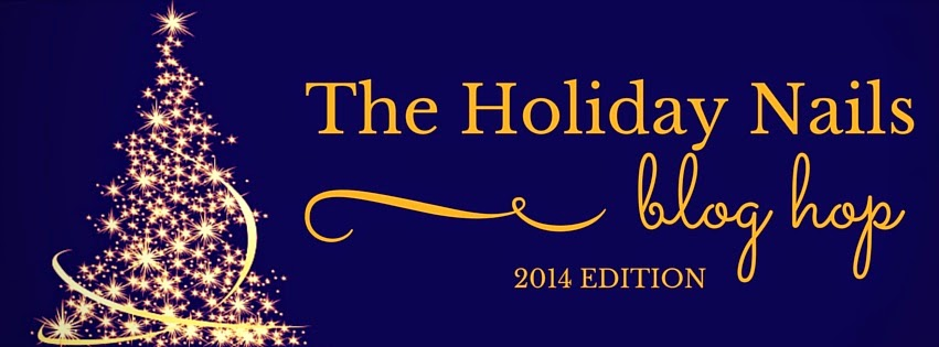 holiday nails 2014 blog hop