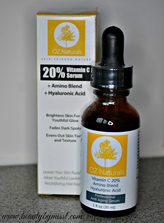 OZ Naturals Professional Anti Aging Serum