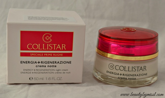 Collistar Energy+Regeneration Night Cream