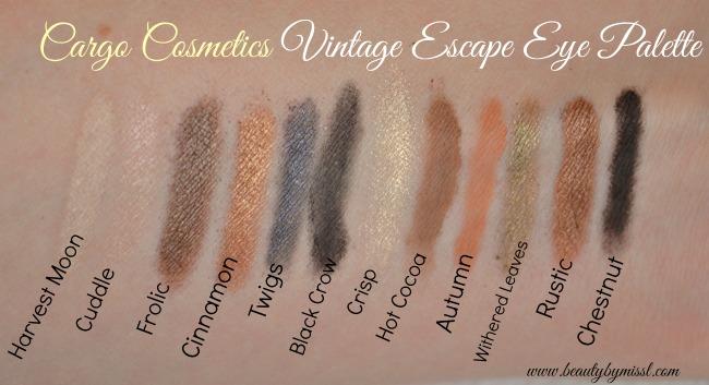 Cargo Cosmetics Vintage Escape Eye Palette