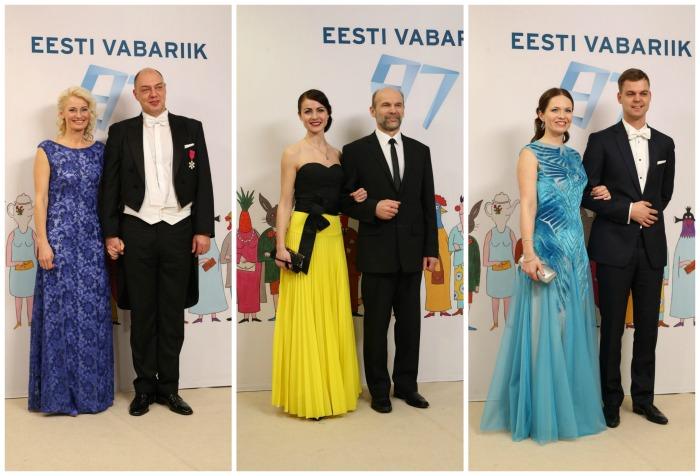Presidendi vastuvõtu lemmikud kleidid