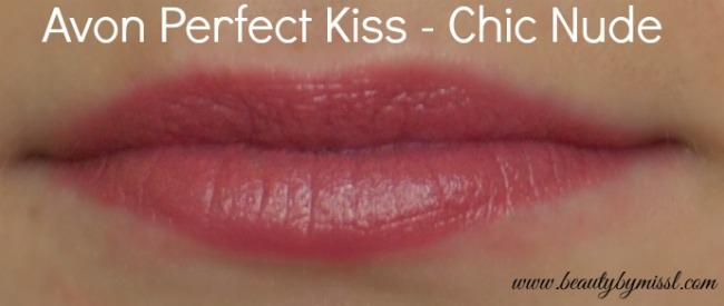 Avon Perfect Kiss Chic Nude