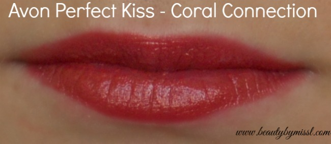 Avon Perfect Kiss Coral Connection