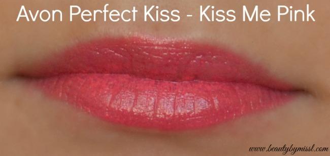Avon Perfect Kiss Kiss Me Pink