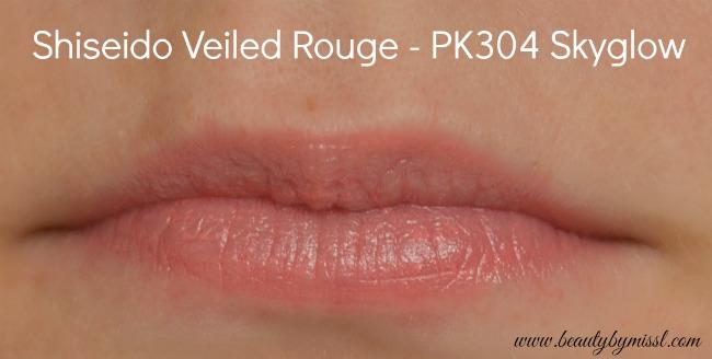 Shiseido Veiled Rouge PK304 Skyglow