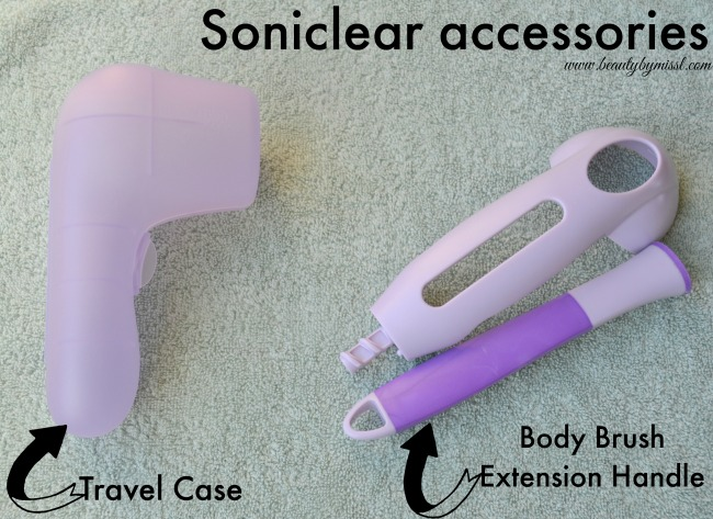 Soniclear accessories