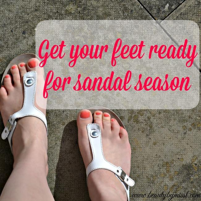 Get your feet ready for sandal season
