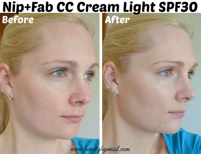 Nip+Fab CC Cream Light SPF30