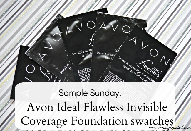 Avon Ideal Flawless Invisible Coverage Foundation